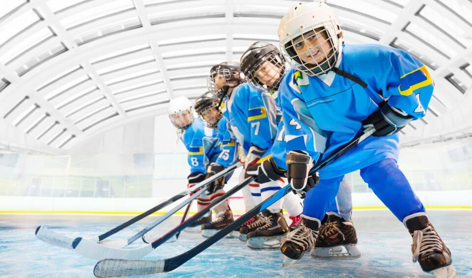 Enfants hockey arena